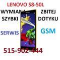 Serwis Lenovo S8-50L, Lenovo A8-50 wymiana szybki dotyku
